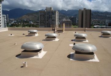 High Flat Roof